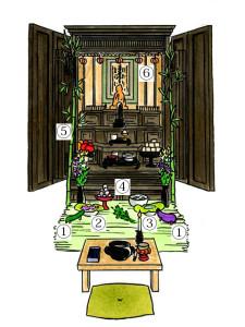 お盆仏壇-2