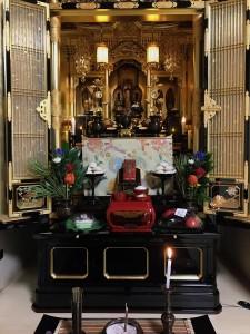 お盆仏壇2